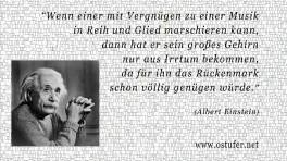Marschieren - Einstein