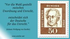 Unordnung - Goethe