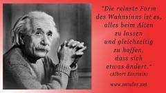 Wahnsinn - Einstein