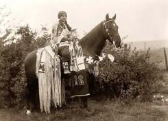 Cayuse-Indianer