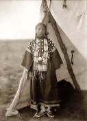 Dakota-Sioux-Maedchen