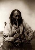 Indianer-Pfeifenraucher