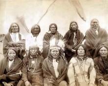 Indianer-Stammesrat