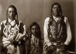 Indianer-Trio