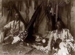 Indianer-Zuhause