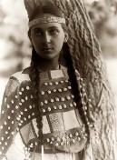 Indianerin-Maedchen