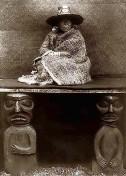 Kwakiutl-Indianerin