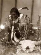 Sioux-Pfeifenraucher