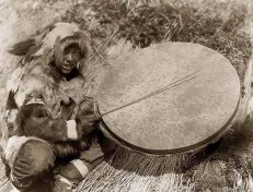 Eskimo-Trommler