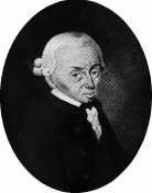 Kant Immanuel - um 1800