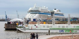 LNG-Barge - AIDAsol