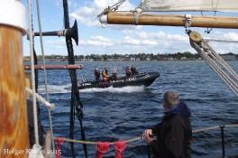 Begleitung - Schlauchboot I