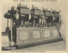 Krupp Germania Schiffsmotor