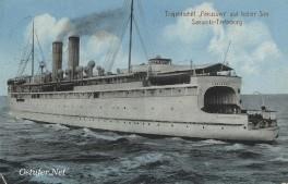 Preussen - Trajektschiff