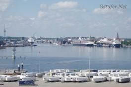 Blick in den Hafen