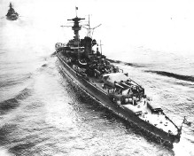 Deutschland - Schlachtschiff