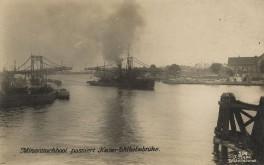 Minensuchboot in Wilhelmshaven