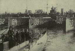 Torpedoboote in Wilhelmshaven