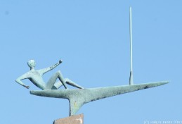 Maritime Skulptur