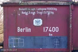 Güterwaggon - 3492