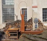 Lange Metallgestaltung - 6156
