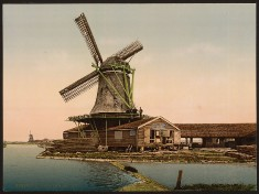 Holland - Windmühle