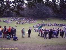 Werftpark - Labyrinth 2003