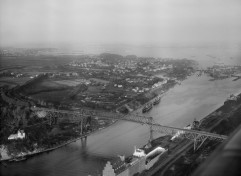 Holtenauer Hochbrücke 1944